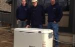 16 kW standby generator