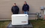 20 kW standby generator