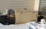 15 KW standby generator