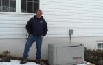 17 KW standby generator