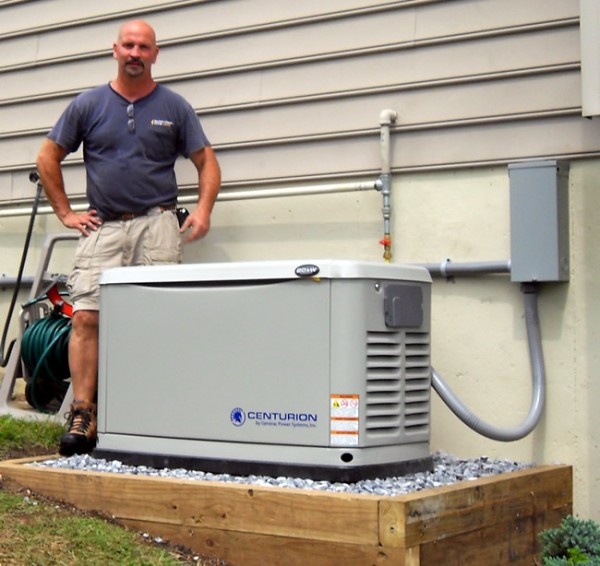 Natural Gas Powered Whole House Generators