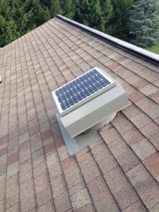 Zephyr 2500 Solar Attic Fan