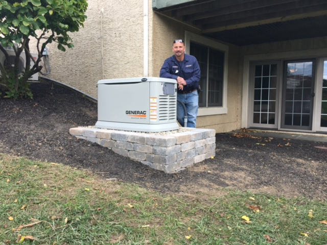 22 kw Generac standby Generator installed